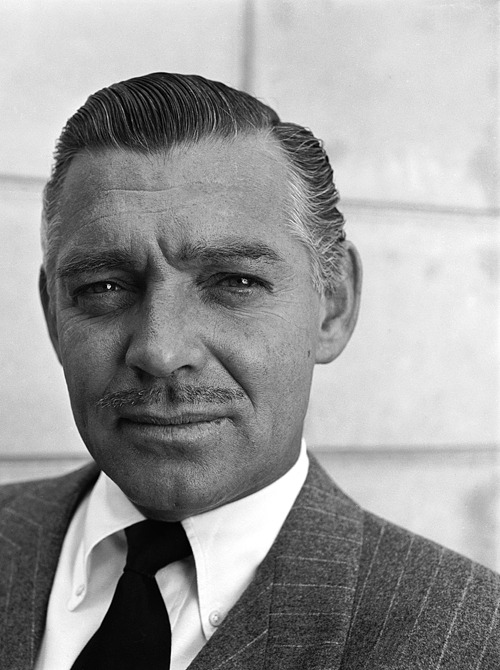 Clark Gable photographed at home by Bob Landry, 1946.