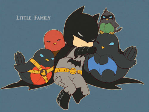littlelonelydevil:   Little Family by  DK.J