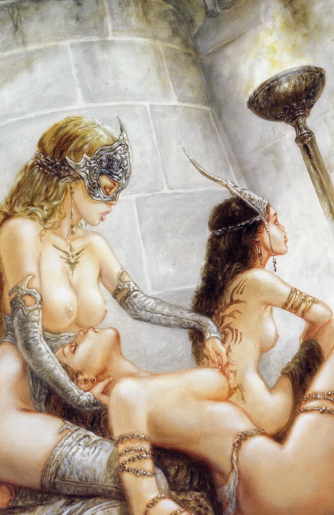 From Dome by Luis Royo