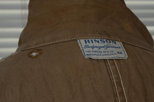Hinson Sanforized Garment