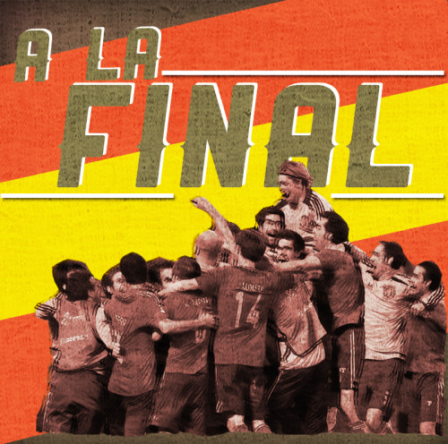 Spain to the Finals!