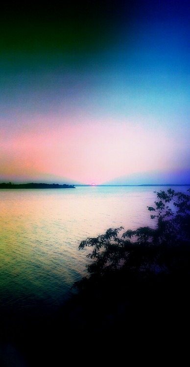 Sunset edited in pics art