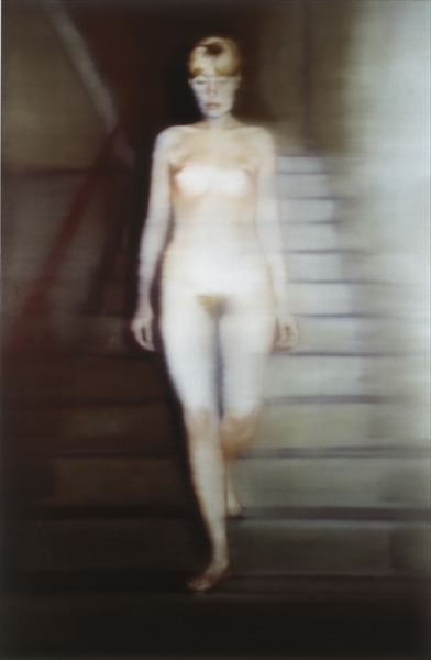 boardsofhamburg:  spaceofficer:  nude descending a staircase
