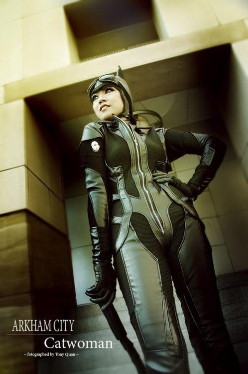 Catwoman (from Batman: Arkham City) by Camilliette