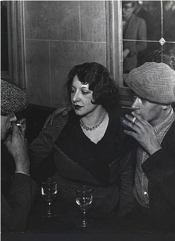 Brassaï     A la Table d'un Café, Paris     c.1931