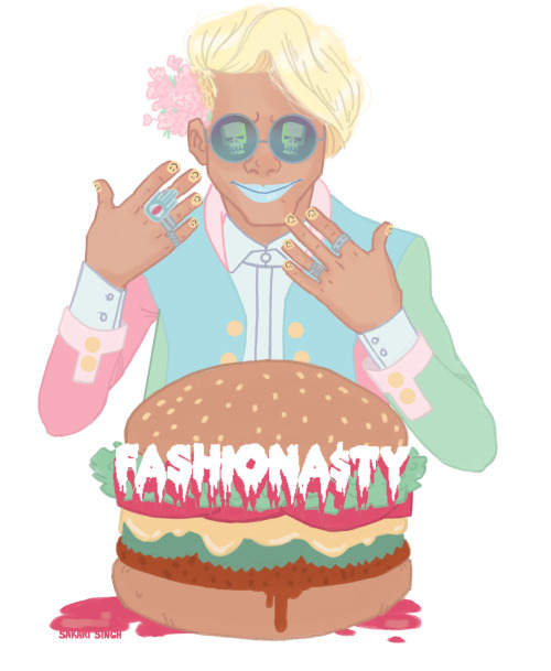 sakarisketches:  FASHIONA$TY