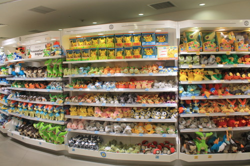 pokemonpalooza:  I want to go to this wonderful place, and buy many plushies.