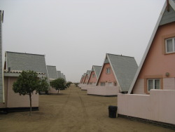 nitramar:  Swakopmund Rest Camp, Namibia. Photo by Blackwych.