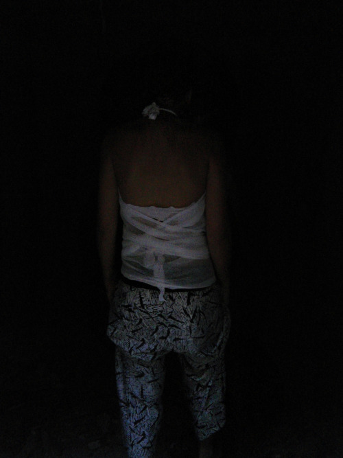 "Photo: Maraso  ""Looking for light in the dark"""