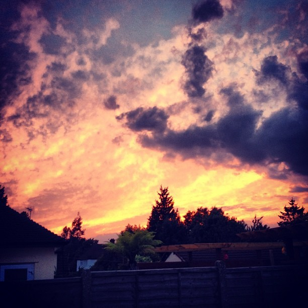 #beauts #sky #sunset #homoshit  (Taken with Instagram)