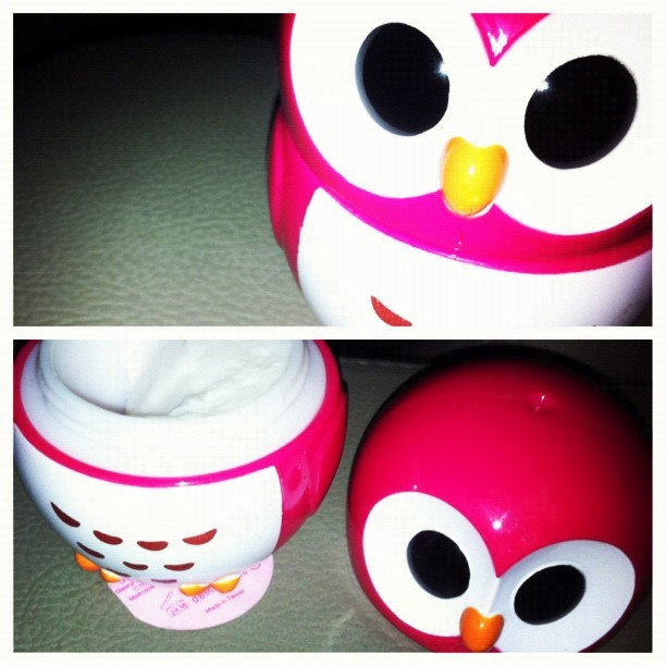 #picstitch my pet owl creme de la creme (Taken with Instagram)