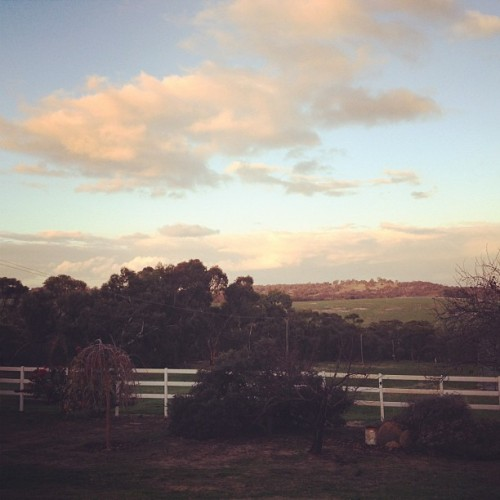 It's beautiful at my parents. #landscape #westernaustralia (Taken with Instagram)