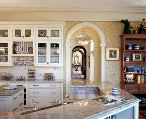 georgianadesign:  Traditional kitchen. Frederick + Frederick Architects.