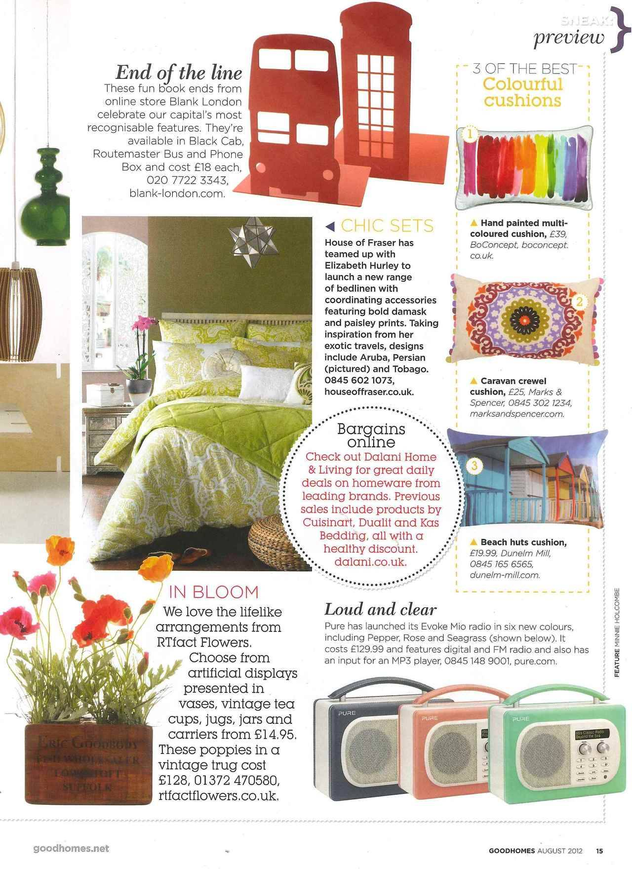 Blank London in Good Homes Magazine