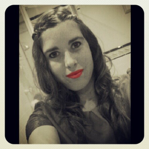 Pink lips :) (Taken with Instagram)