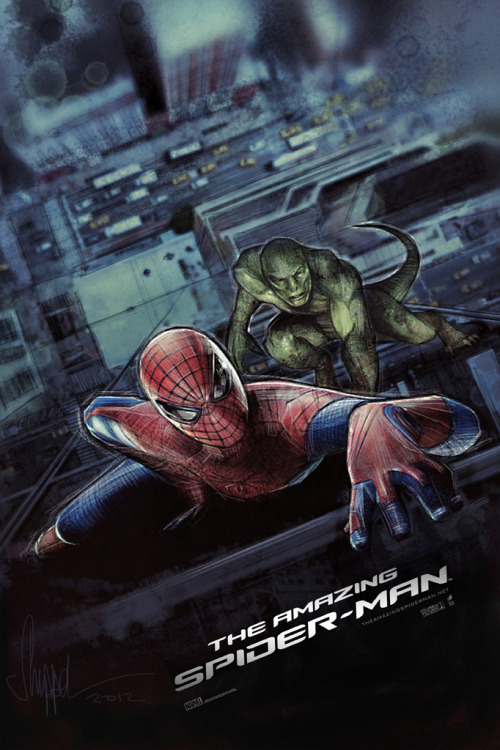 fuckyeahmovieposters:  The Amazing Spider-Man by Paul Shipper