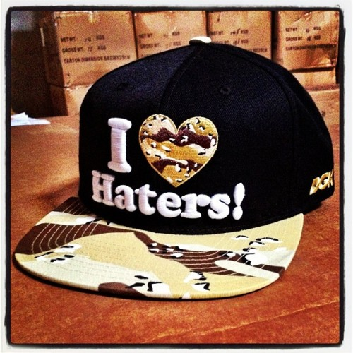 "DGK - ""I Love Haters - Desert Storm"" Snapback Soon available at DGK Shop."