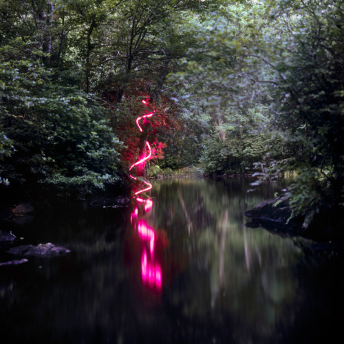 Artist Barry Underwood's incredible light sculptures.