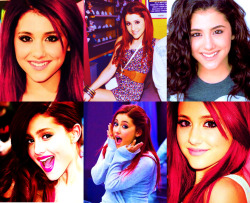 unacaritafeliz:  You're pretty and I wish I were you: Ariana Grande