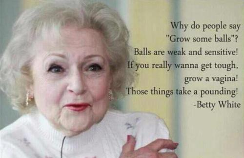 untitled-mag:  Betty White is Right