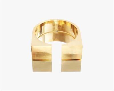 – Gold Square Showpiece –Gold plated metal, hand-crafted UNCOMMON MATTERS/AMÉLIE REICH X PACO RABANNE