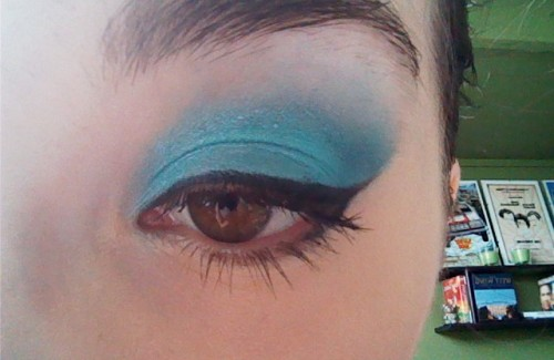 Loving my eye makeup today :)