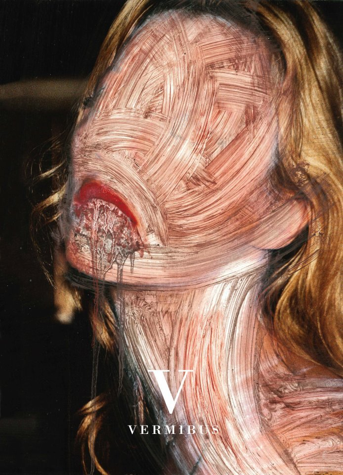 Anorexic (2012) Dissolvent on paper 26,9 x 39,3 cm From Kate Moss by Vermibus series. Open Walls | Itinerant Street Art Gallery Presents Vermibus & Chow Martin at Bright Tradeshow Access is reserved to registered visitors. Register Now!http://brighttradeshow.com/en/registration/buyer.html