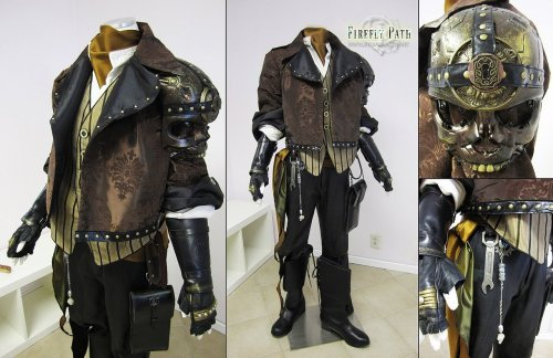 Gentleman Steampunk Pirate by ~Lillyxandra