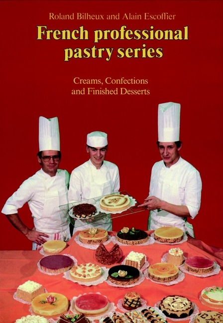 Just added to our collection: French Professional Pastry Series, Volume Two, by Roland Bilheux and Alain Escoffier.