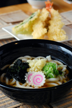 Tempura Udon.  Photo for En Dining.