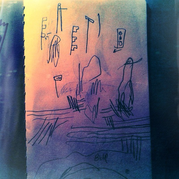 #drawnwhile driving (Taken with Instagram)