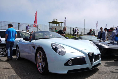 Showing off Starring: Alfa Romeo 8C Spider (by MauriceVanGestel)