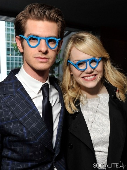 I'm at the point where I honestly don't think Andrew Garfield and Emma Stone are promoting The Amazing Spiderman. They are promoting the fact that they share a perfect, flawless love that I will never understand.