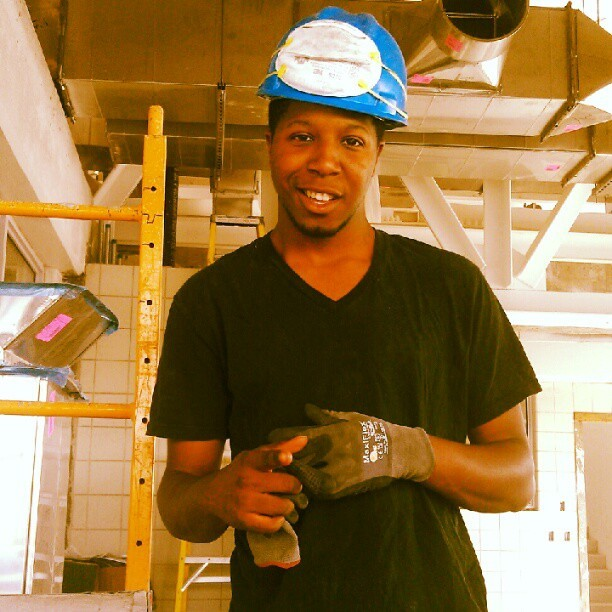 At #work where work is the last thing that gets done lol #construction #Queens #CollegePoint   (Taken with Instagram)