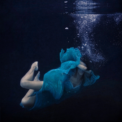 artchipel:  Brooke Shaden - The sinking ship [Tumblr Monday with arpeggia]