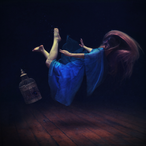 artchipel:  Brooke Shaden - Sink or swim [Tumblr Monday with arpeggia]