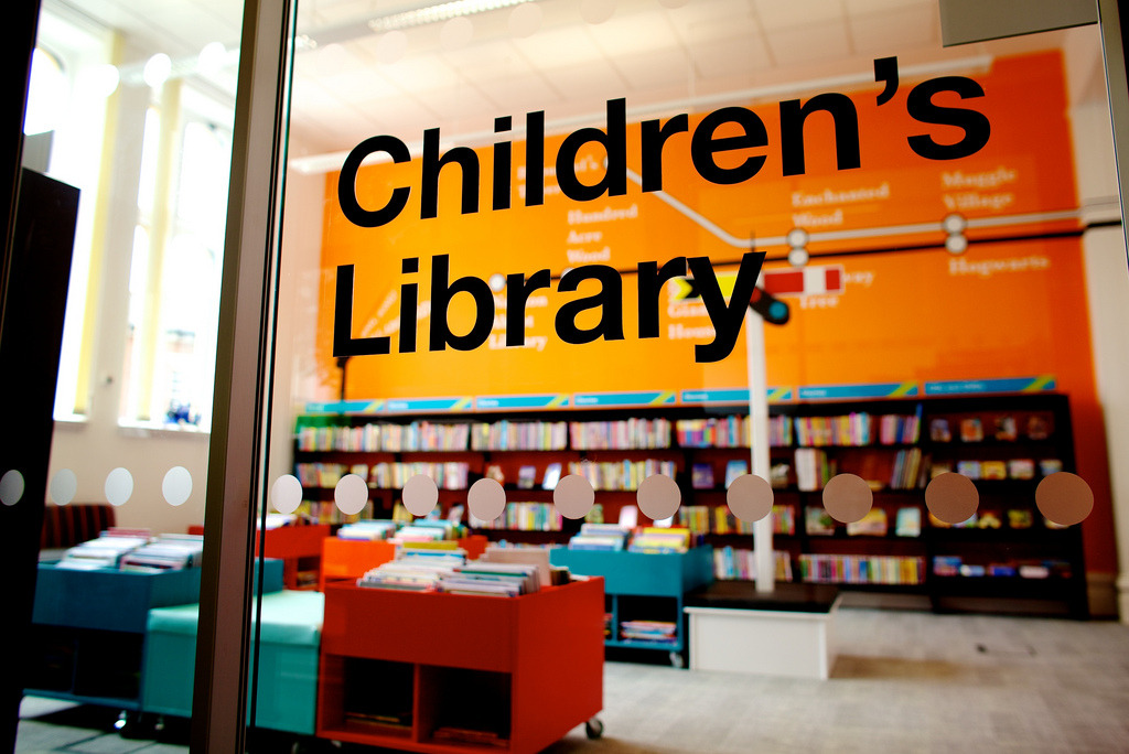 Passmore Edwards Centre children's library (by Devon Libraries)