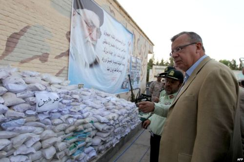 "Silly Dictator Stories #1: Iranian VP Says 'Zionists' Behind Global Drug Trade In a speech at an antidrug conference in Tehran on June 25, Iranian Vice President Mohammad Reza Rahimi posited his theory that ""Zionists"" — particularly those who follow Talmudic teachings — are in control of the illegal drug trade. He went so far as to offer money to any member of the audience who could ""research and find one single Zionist who is an addict."" According to Rahimi, there is no such thing as a Zionist drug addict, thus proving his point…[read more] Have a silly dictator story? Follow us on Twitter @sillydictators"