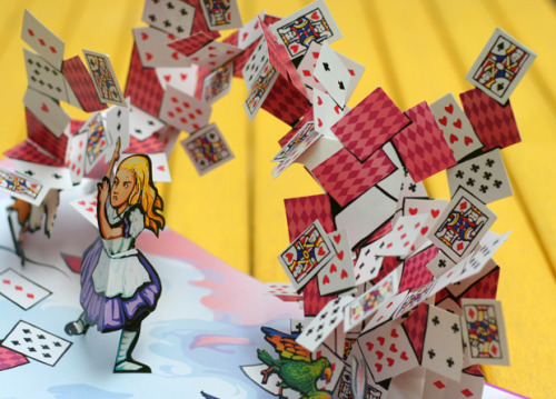 Alice in Wonderland pop-up book – cult-classic storytelling meets remarkable paper engineering
