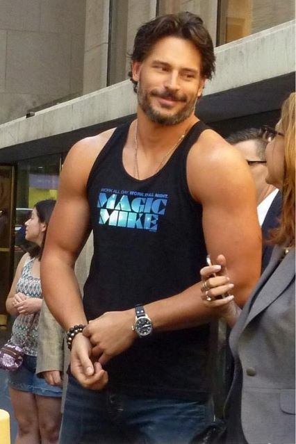 @JoeManganiello (Alcide in True Blood) at the @TodayShow