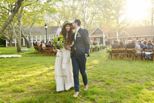 vogue:  Flower Child: Designer Pamela Love's Wedding in Montauk  See the slideshow on Vogue.com