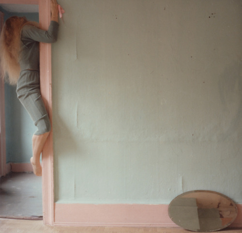 foxesinbreeches:  Untitled by Francesca Woodman, New York, 1979-1980