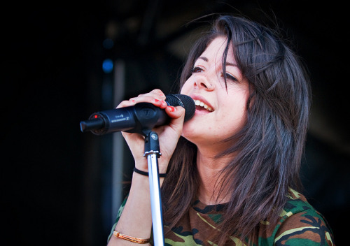 ohbbtayjardine:  We Are The In Crowd's Taylor Jardine by picksysticks on Flickr. Via Flickr: We Are The In Crowd Taylor Jardine VANS WARPED TOUR Irvine, Ca. June 21, 2012PICKSYSTICKS