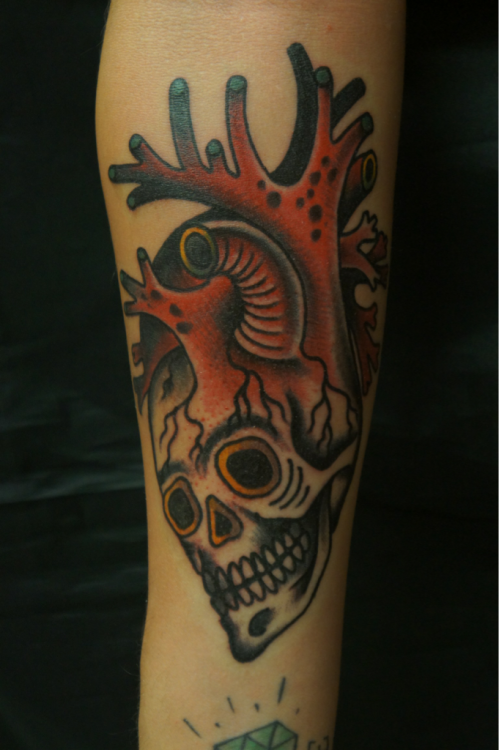 a tattoo i did @ tattoo Mexican family