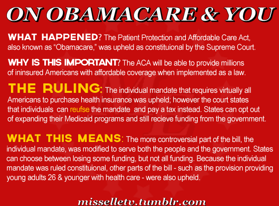 On Obamacare & You For anyone out there still trying to make sense of this thing! Get live updates at Bloomberg Law.