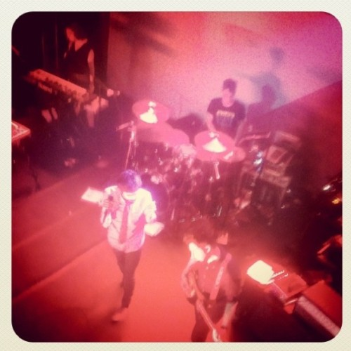 #uncapped #passionpit (Taken with Instagram)