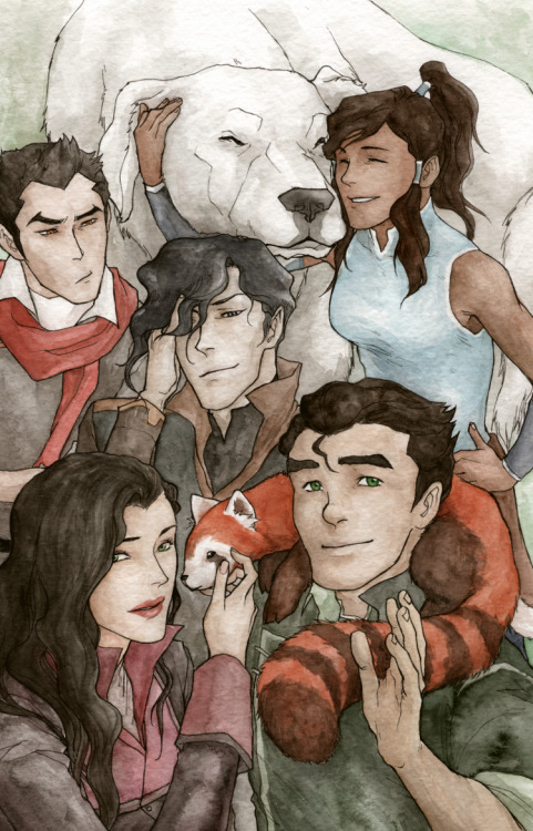 LoK Kids by ~Boolsajo
