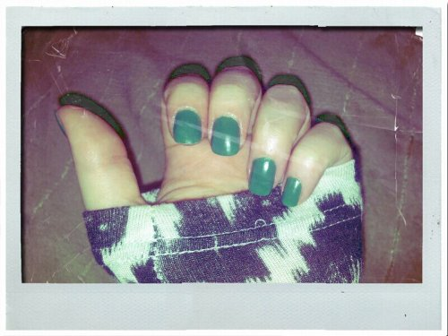 PRETTY GREEN MANICURE. And a bargain at $20