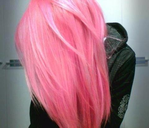 :( i want pink hair soooooo pretty…… i miss mine