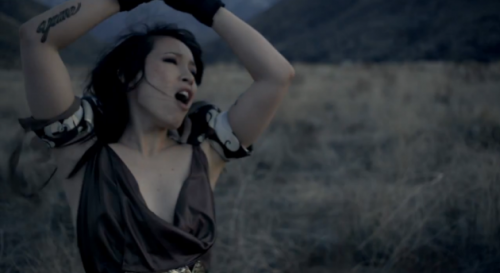 thestrutny:  Video: Little Dragon – Sunshine Little Dragon premiered their new Absolut sponsored video last night on The Daily Show. Watch the video for Sunshine